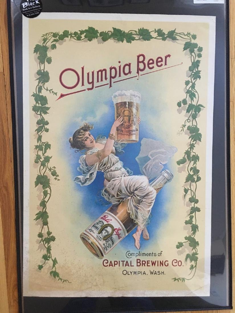 OLYMPIA BEER POSTER #3