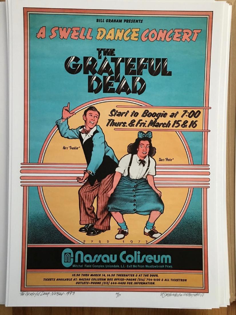 DAVID BYRD - Grateful Dead Swell Dance - Signed Artists