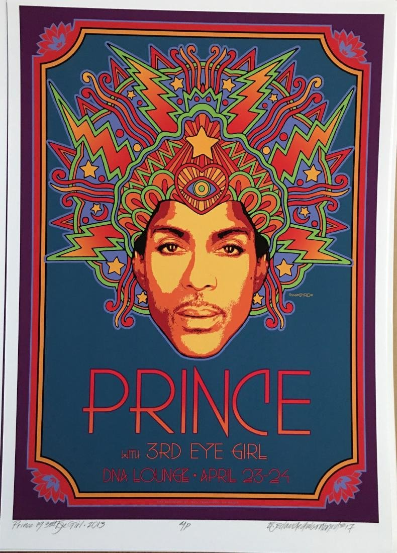 DAVID BYRD - Prince at DNA Lounge - Signed Artists