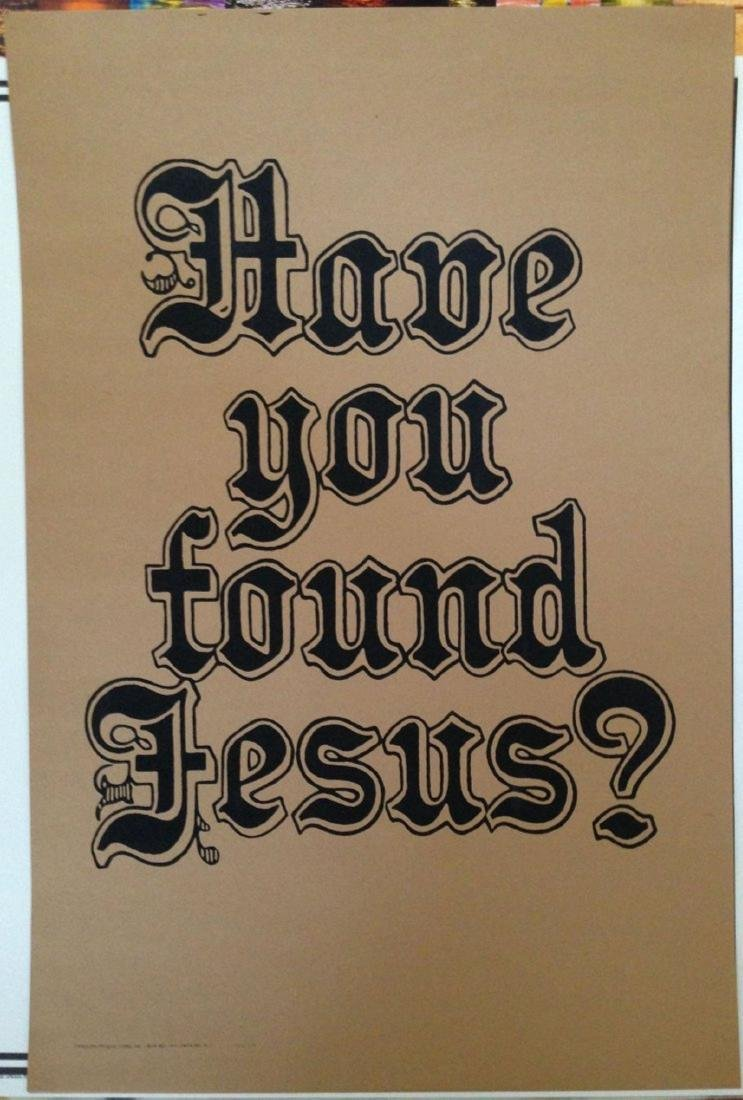 HAVE YOU FOUND JESUS - 1969 Pandora Productions