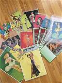 SIGNIFICANT VINTAGE PIN UP COLLECTION