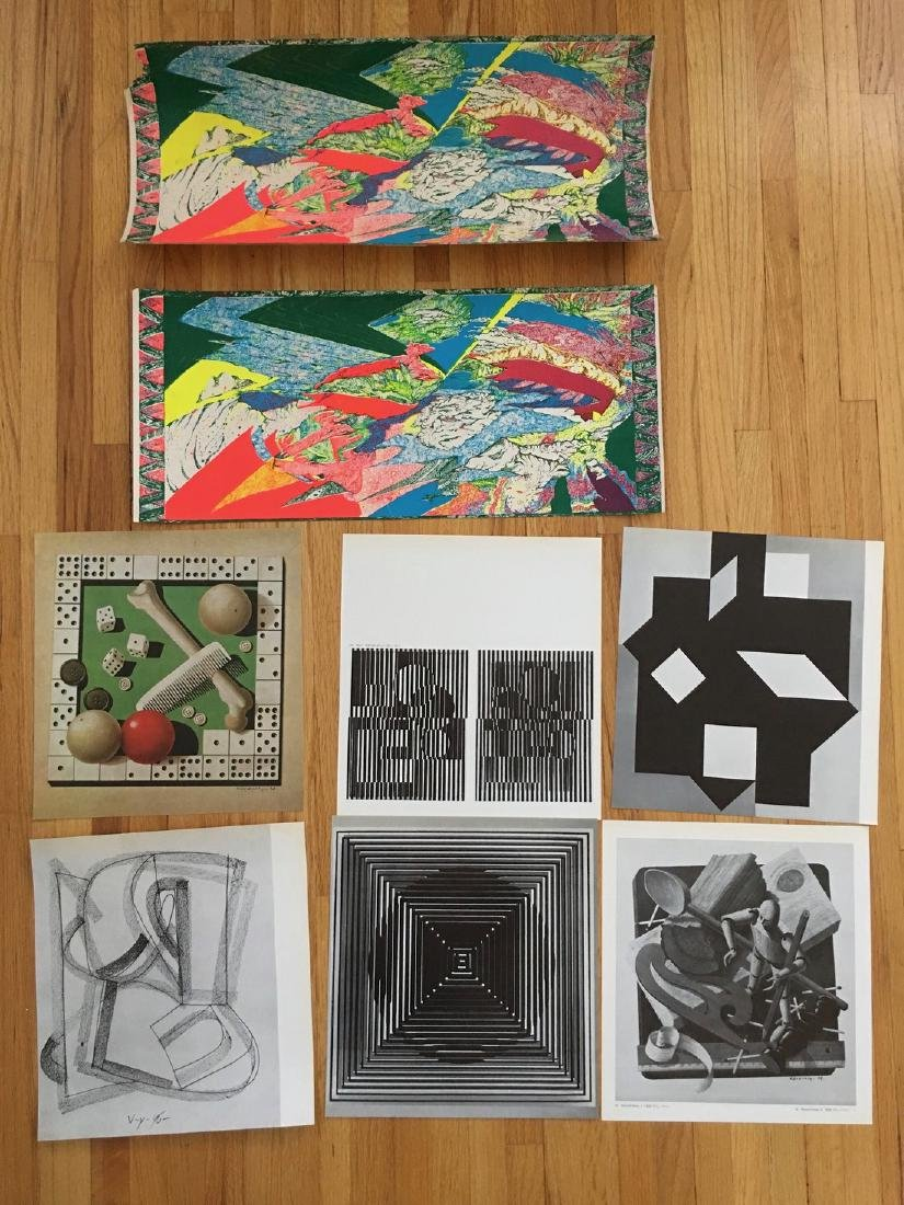 Victor Vasarely BookPlates - From 1971 AND MORE