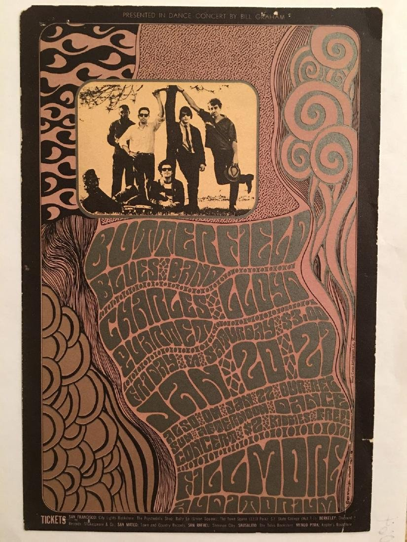 The Paul Butterfield Blues Band Postcard - BG46