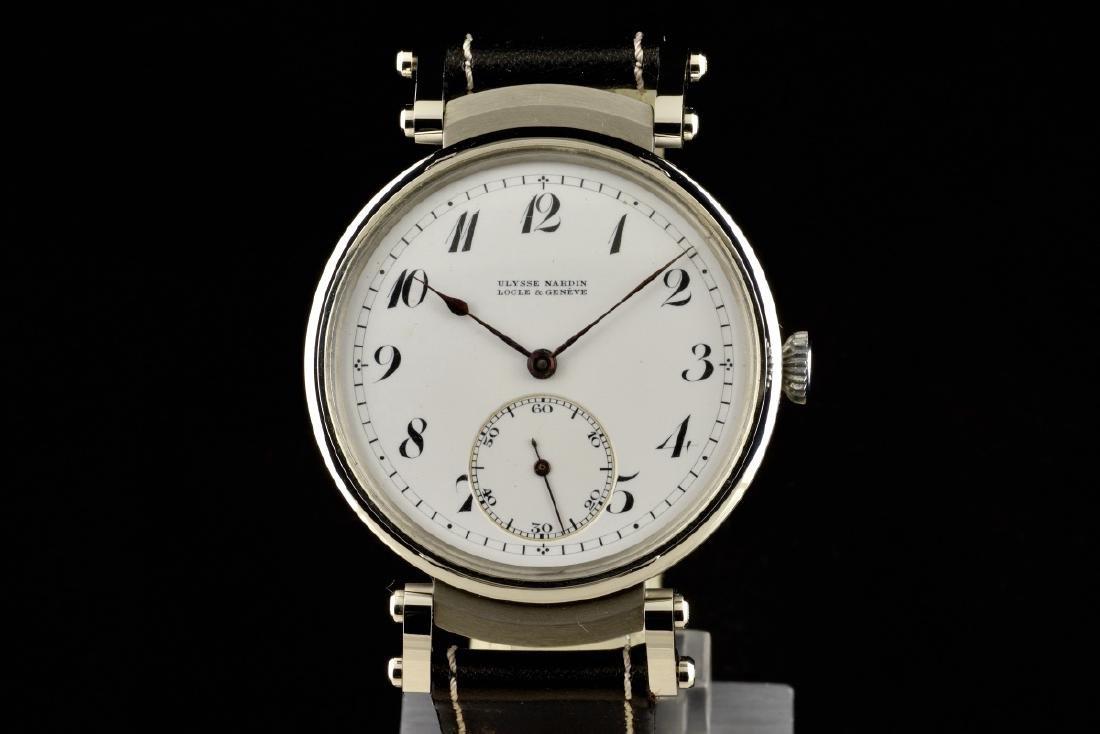 Rare Ulysse Nardin watch, 1890/1900