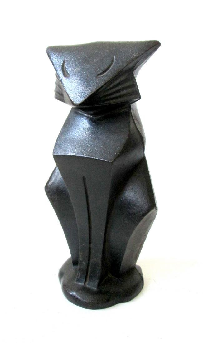 "Rare Hubley ""Modernistic Cat"" Doorstop"