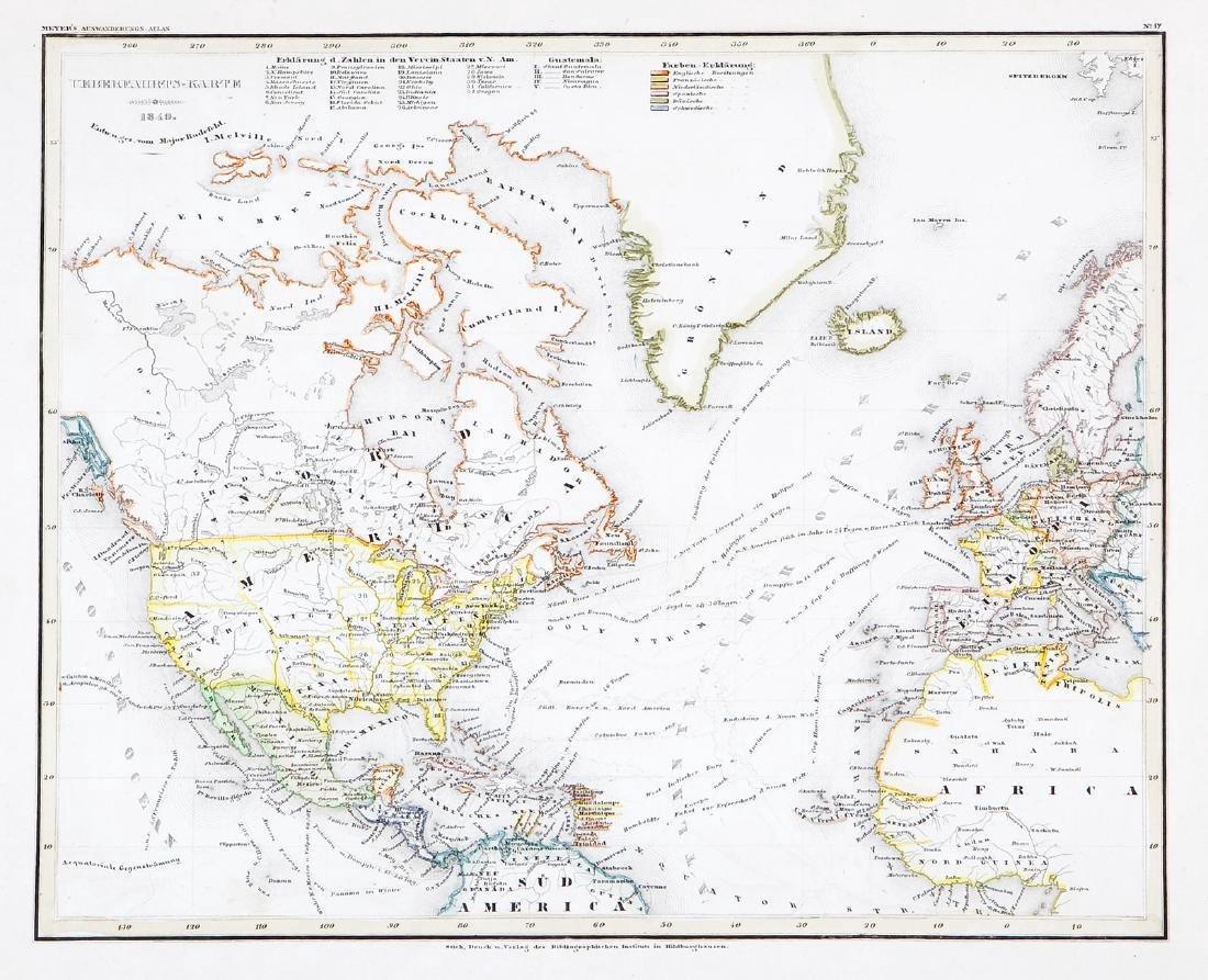 Radefeld: North America, Atlantic Routes