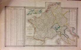Napolean's empire at 1811