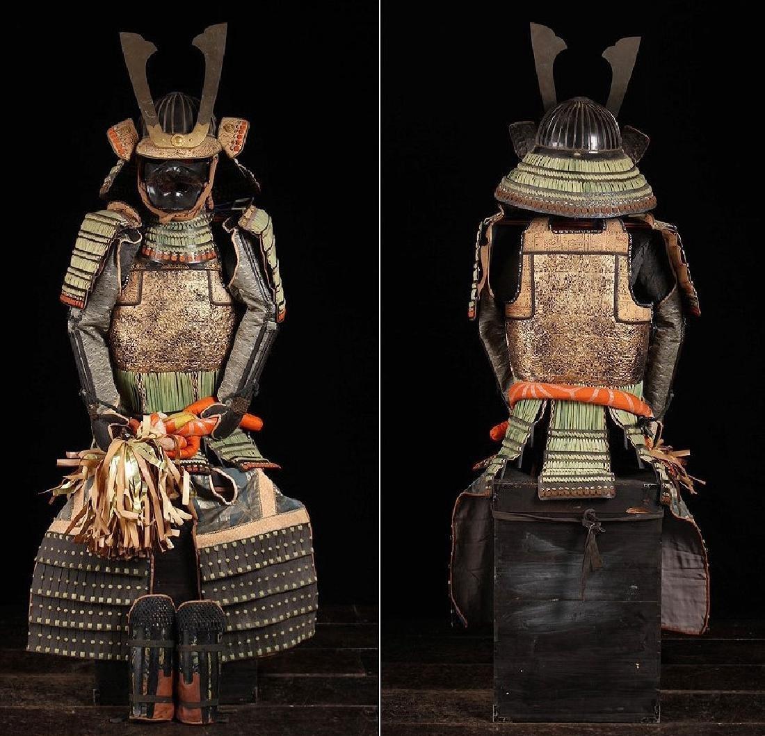 Samurai Matsudaira Nobutsune Japanese Yoroi Armor