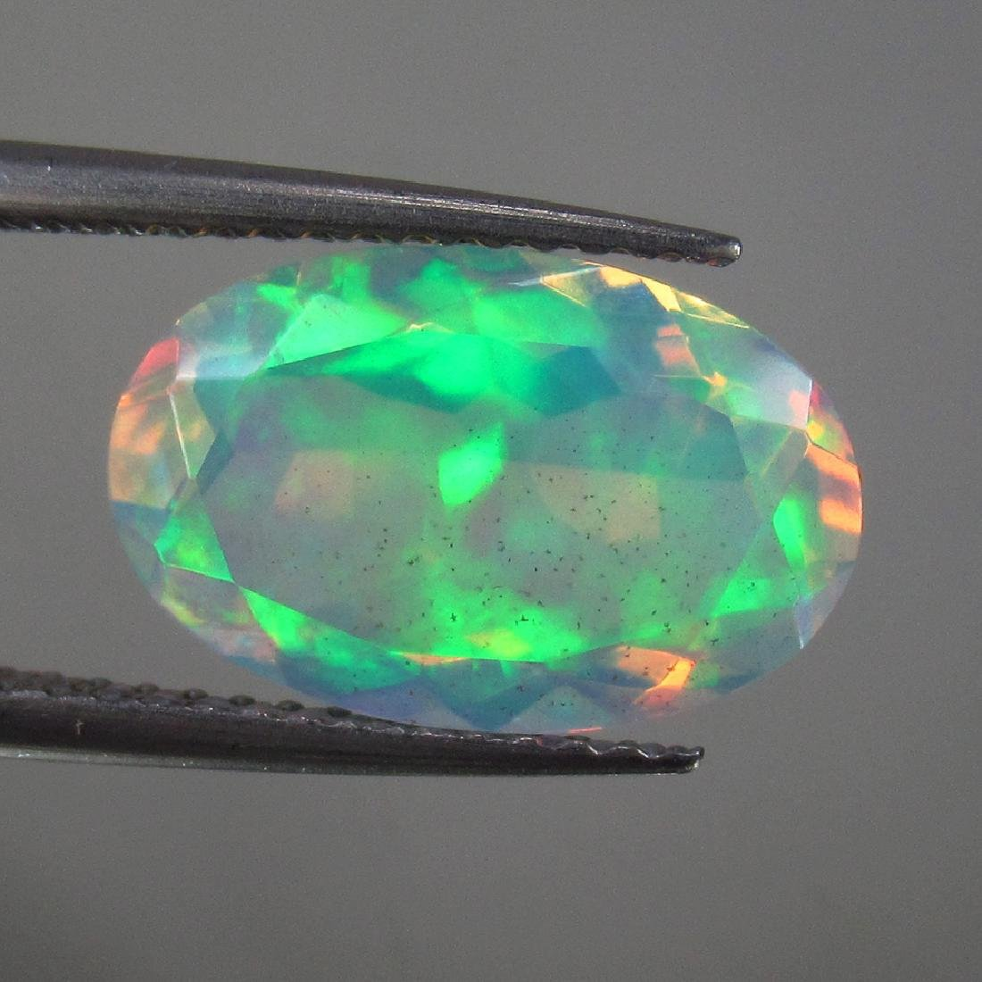 2.56 Ctw Natural Loose Faceted Opal