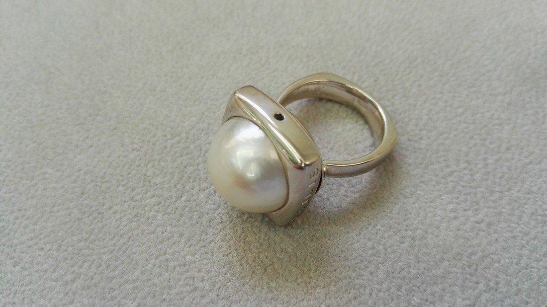 Australian Mabe pearl ring