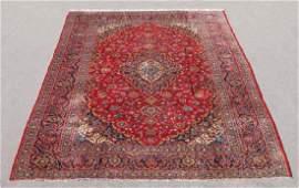 Semi Antique Persian Kashan Rug 10x13.1