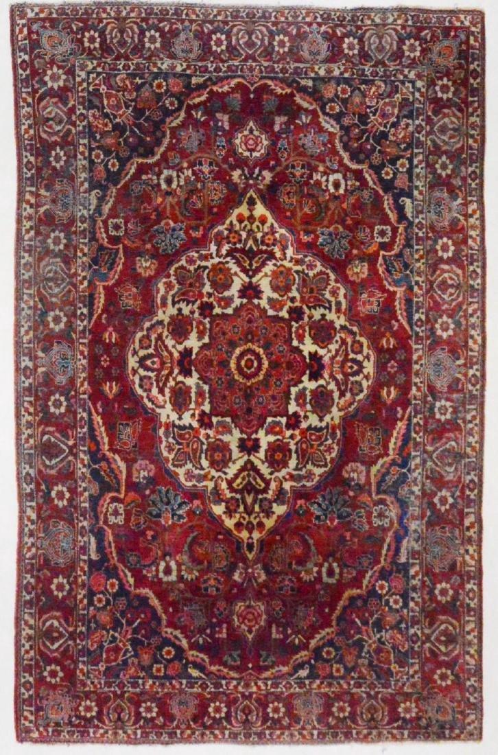 Persian Rug Bakhtiar 10.5x6.9