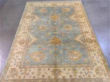 Hand Knotted Muted Vintage Design Rug 6x9