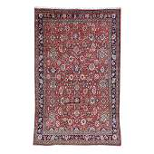 9.8x15.5 Hand-knotted Semi Antique Persian Mahal Rug