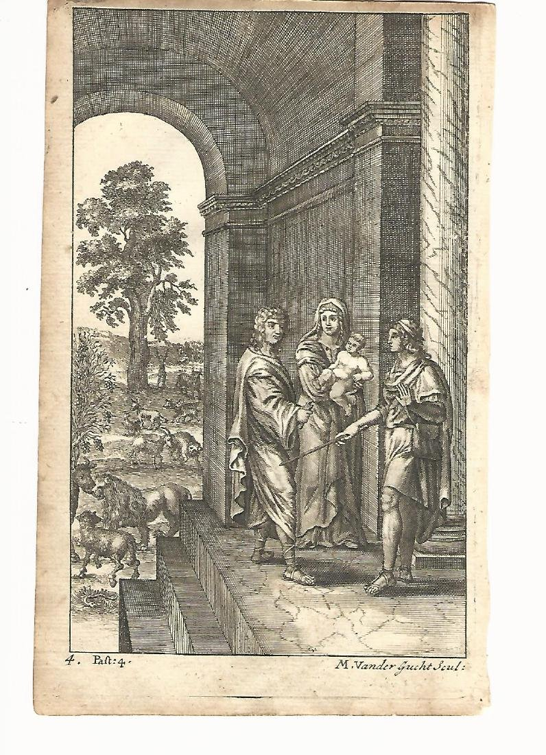 1709 Engraving of Pollio from Virgil