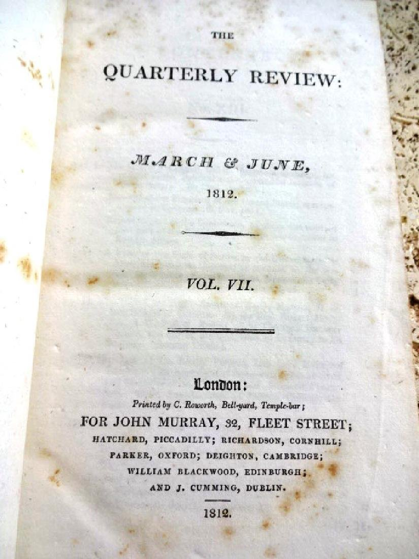 1812 Quarterly Review Voyages and Lord Byron