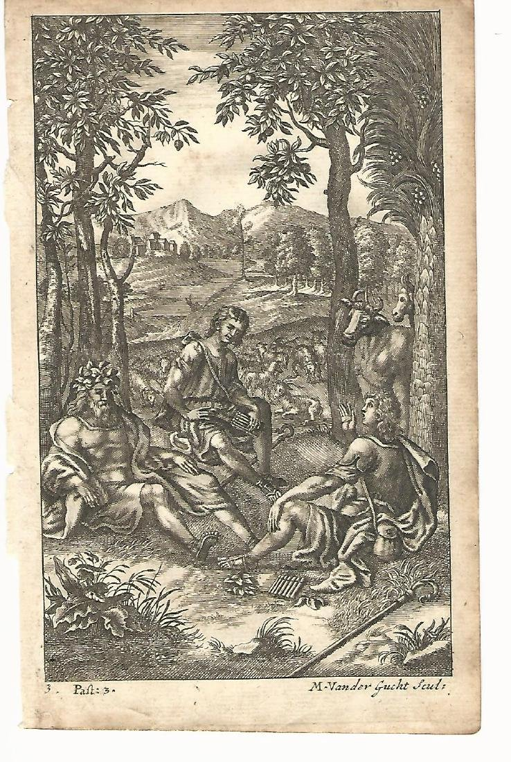 1709 Engraving Palaemon from Virgil