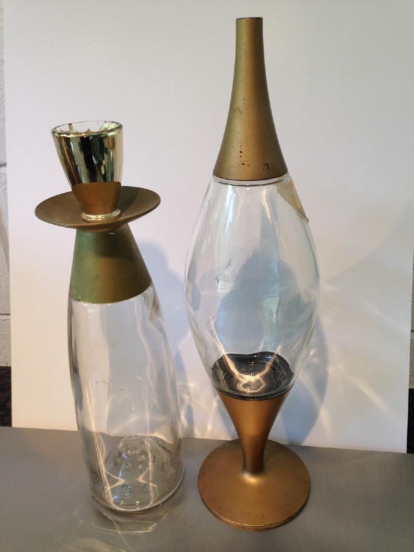 Set of 2 Liquor bottles