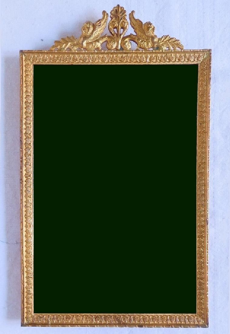 Empire Style Miniature Gilt Frame