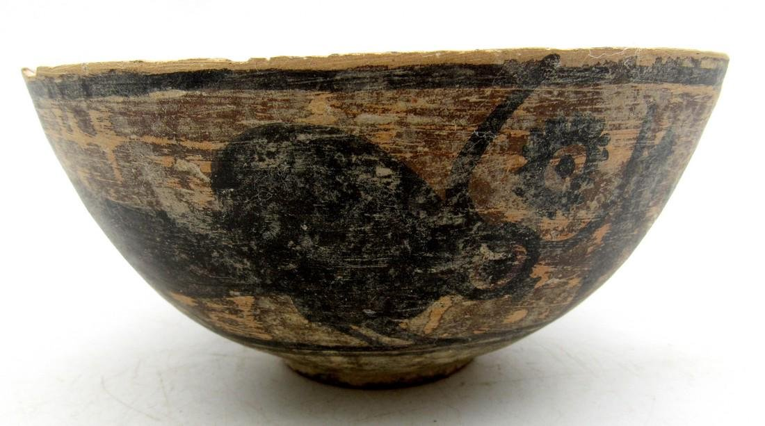 Indus Valley Bowl depciting Bull - Indus Valley