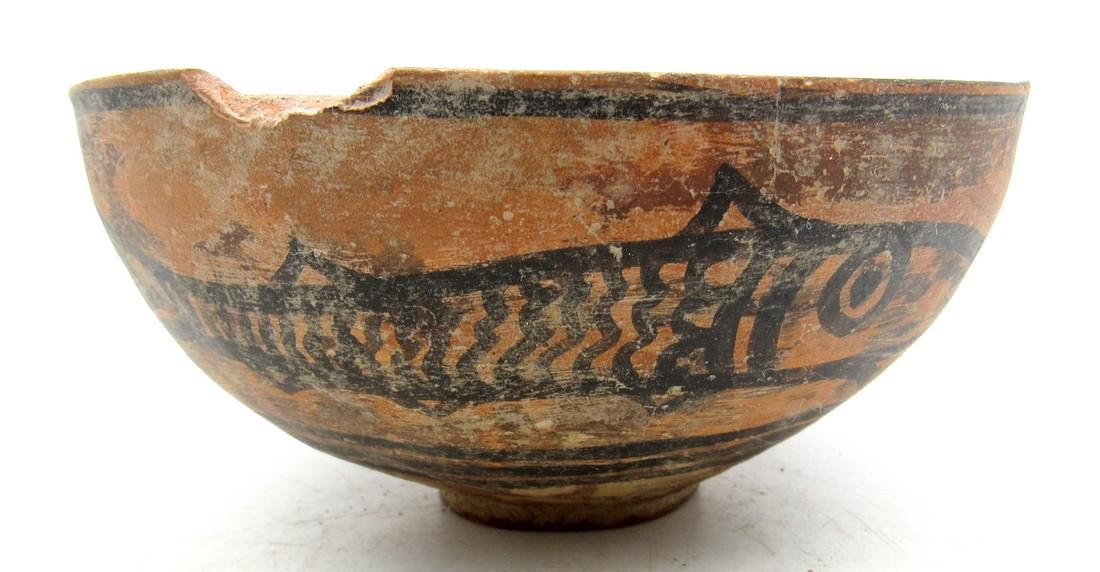 Indus Valley Bowl depicting Fish