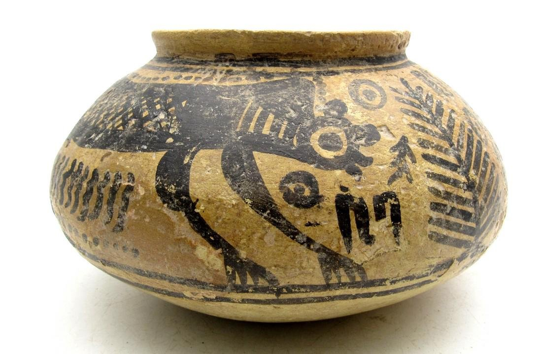 Indus Valley Jar Depicting Monkey - Indus Valley