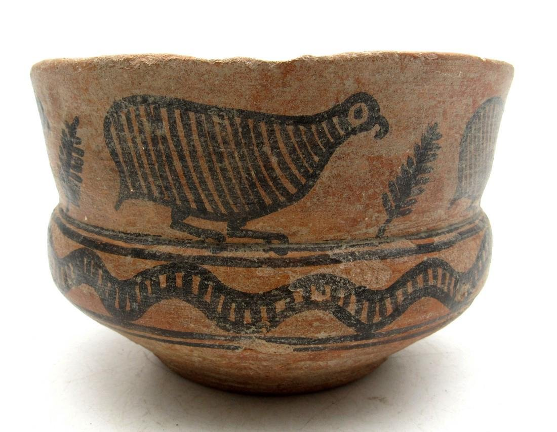 Indus Valley Cup Depicting Birds and Snake - Indus