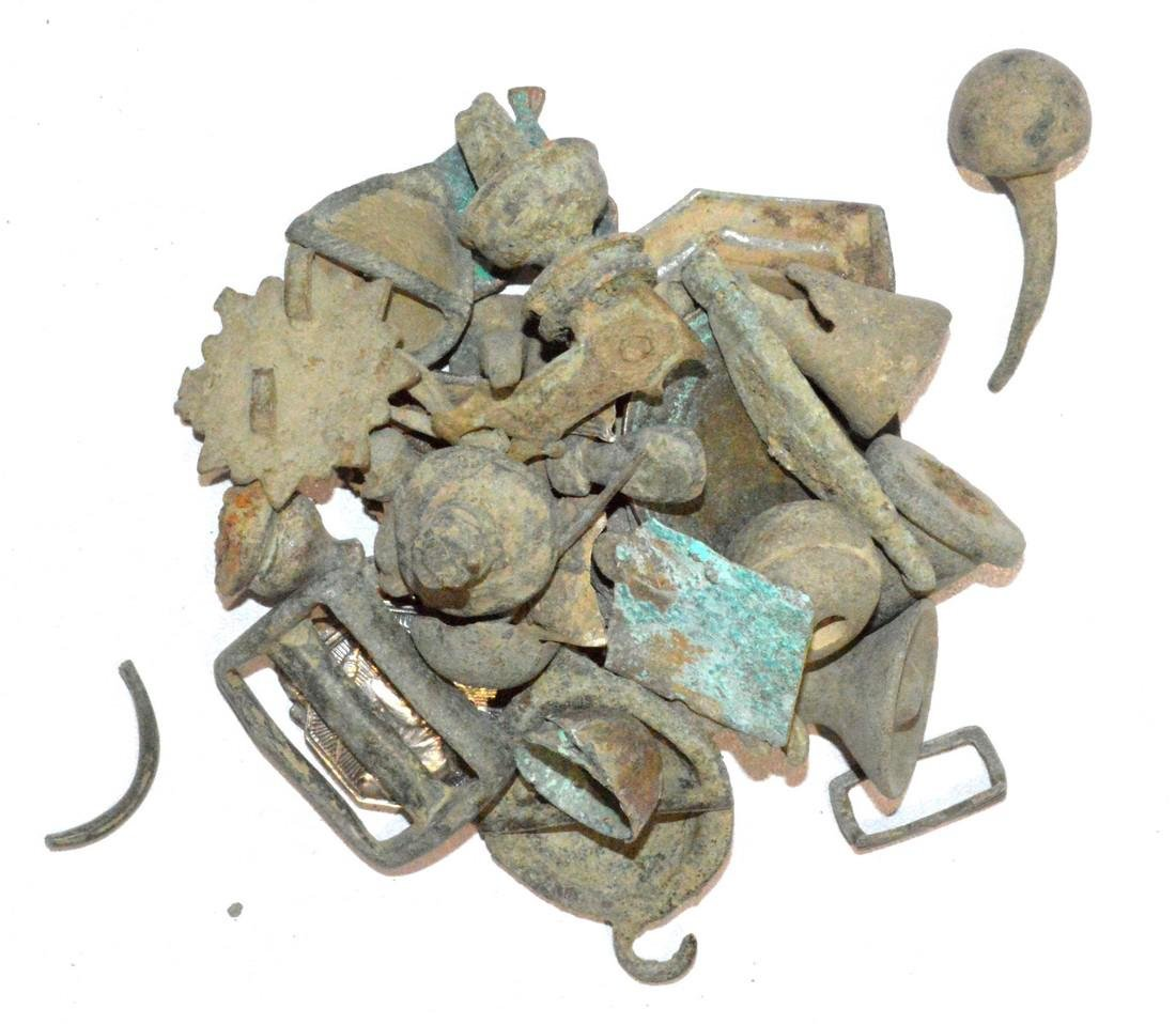 Lot of Roman to Post Medieval Artifacts for Cleaning