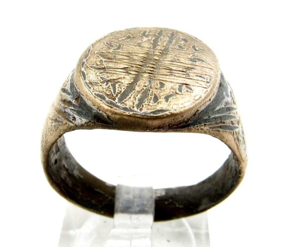 Viking Ring with Mysterious Symbol