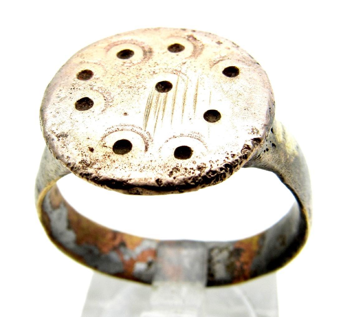 Saxon Evil's Eye Talisman Ring