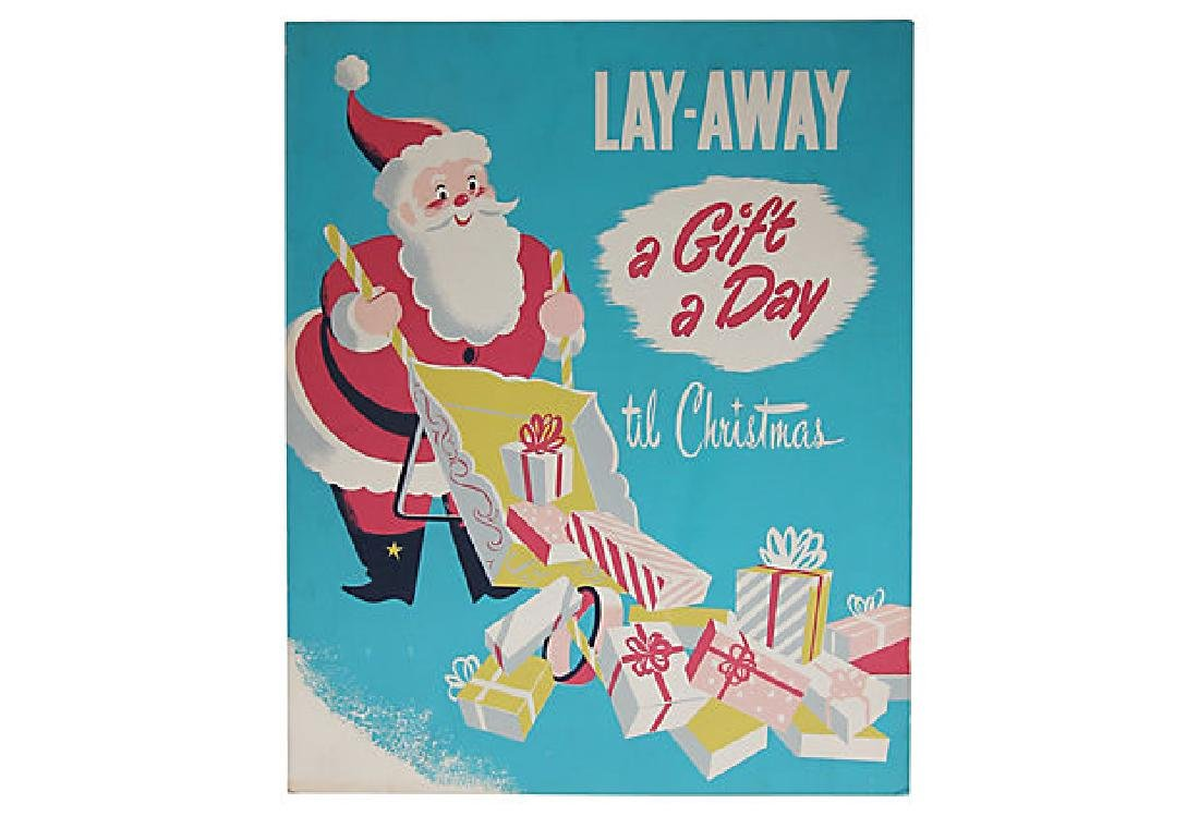 Christmas Department Store Poster