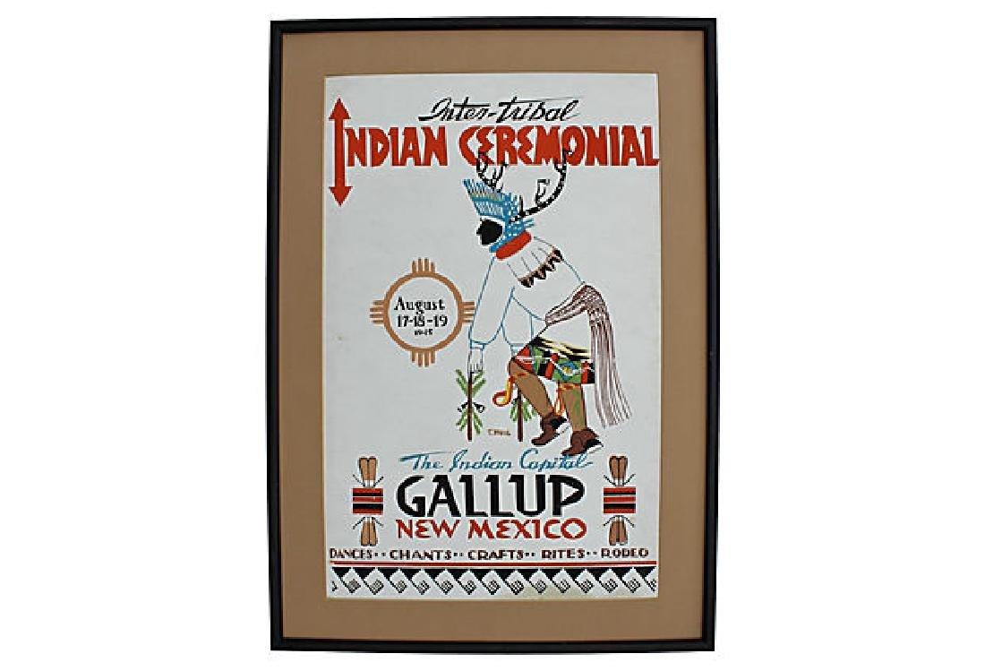 Inter-Tribal Cermonial Poster
