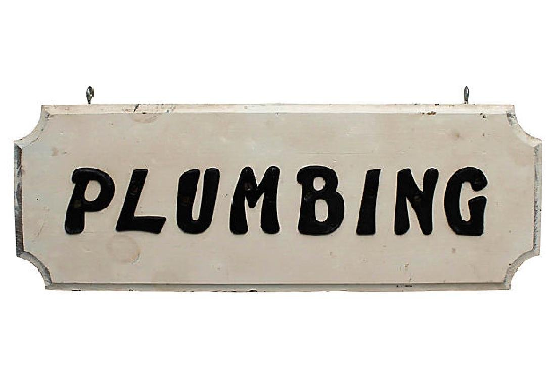 Plumbing Sign