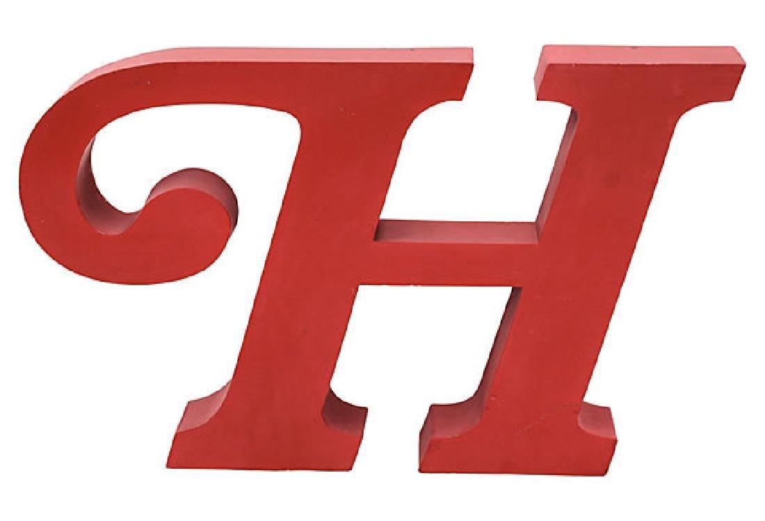 Serif Letter H