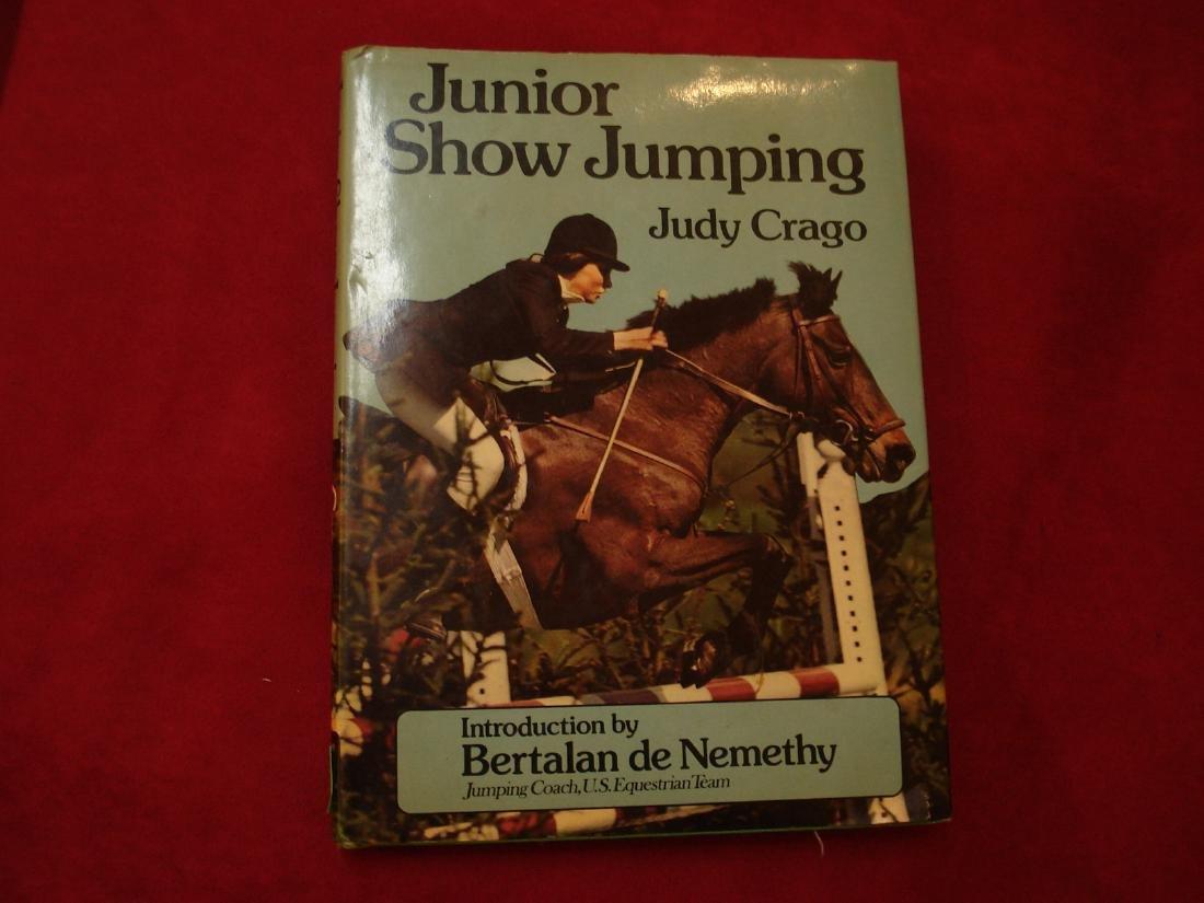 Junior Show Jumping.  Horses.