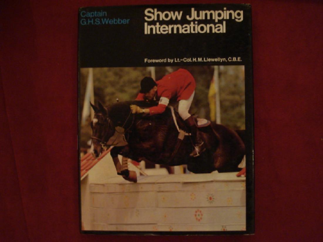 Show Jumping International.  Horses.