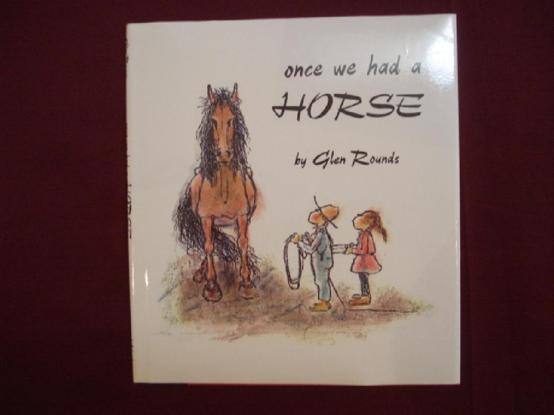 Once We Had a Horse.