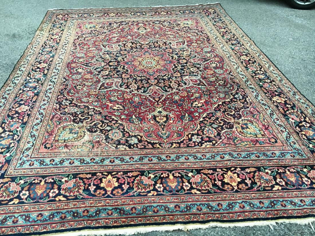 Antique Persian Khorasan Hand Knotted Rug 10.5x14.3