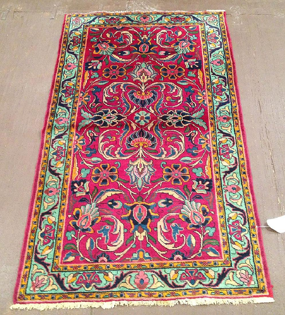 Antique Persian Malayer Rug 4.10x2.10