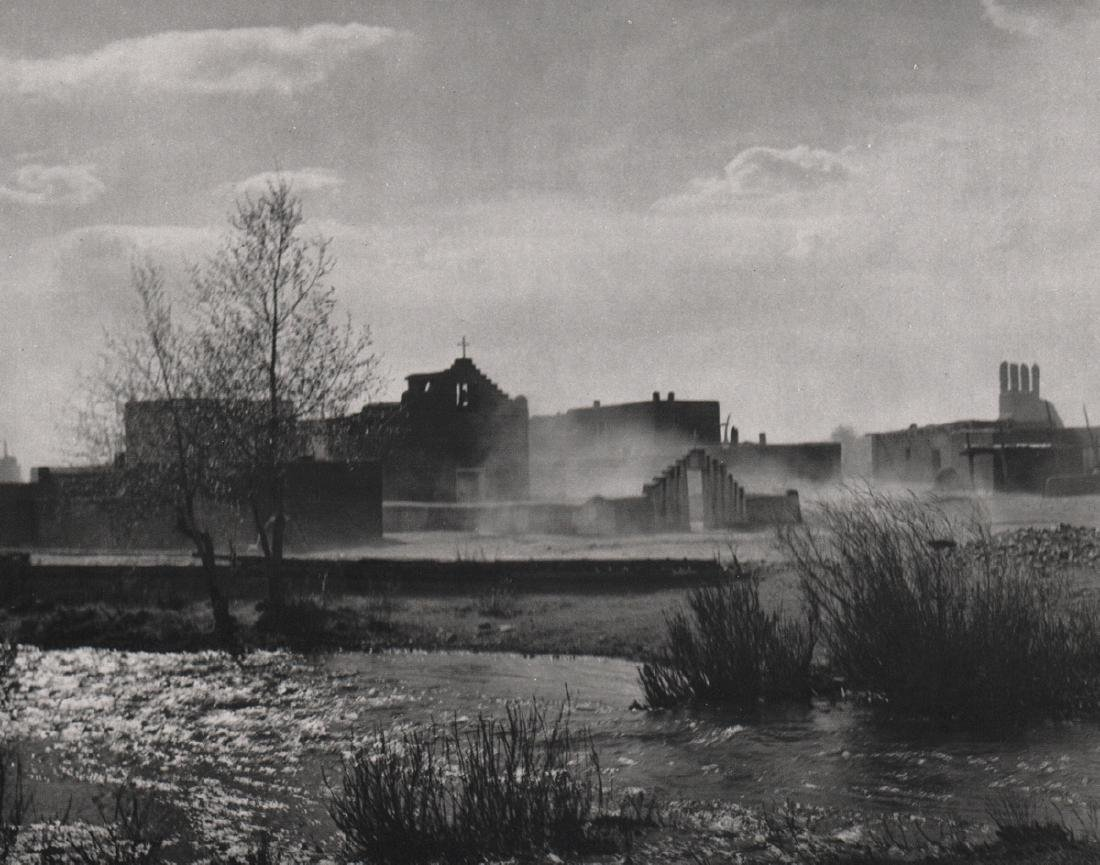 ANSEL ADAMS - Dust Storm - Taos, New Mexico
