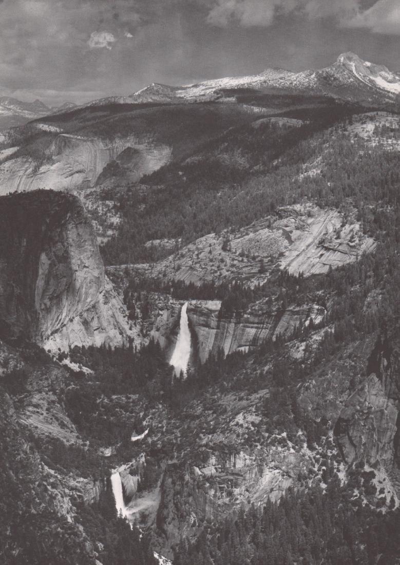 ANSEL ADAMS - High Sierras from Glacier Point