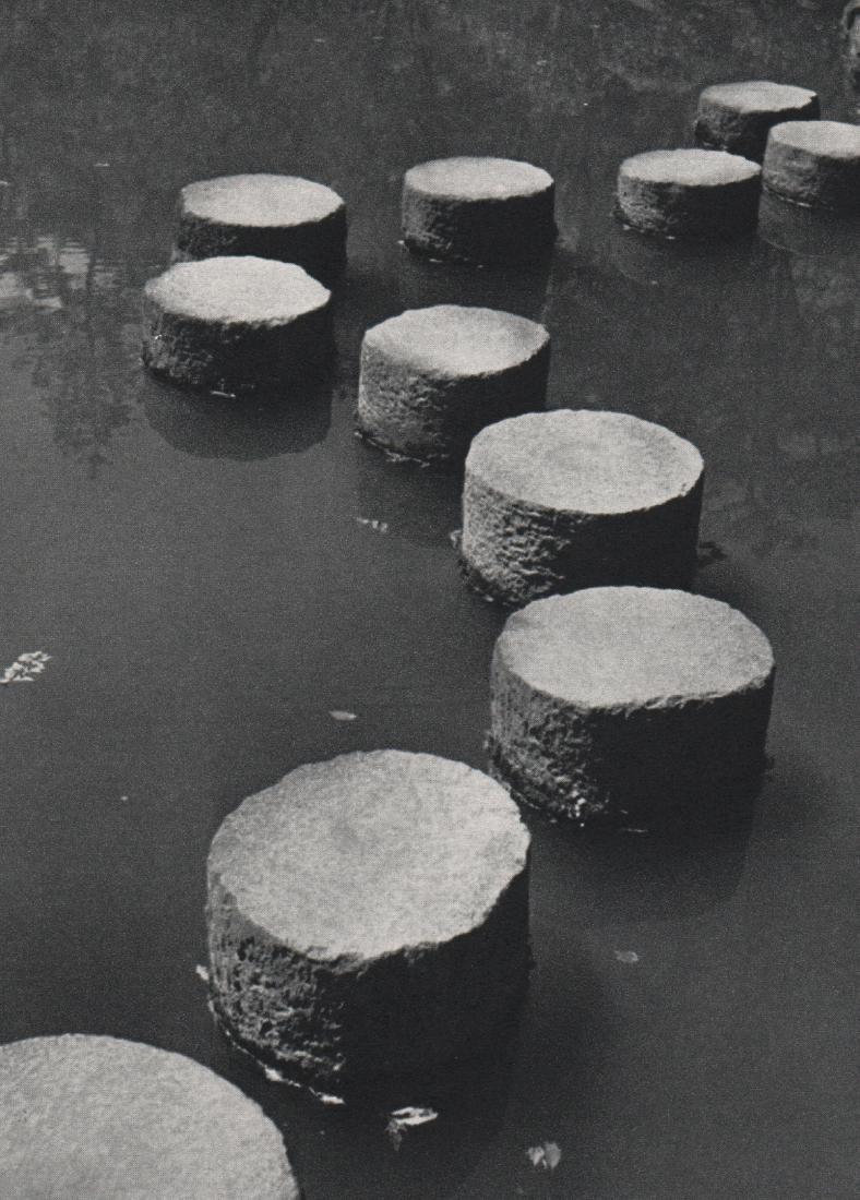 WERNER BISCHOF - Stone Path Japan 1952