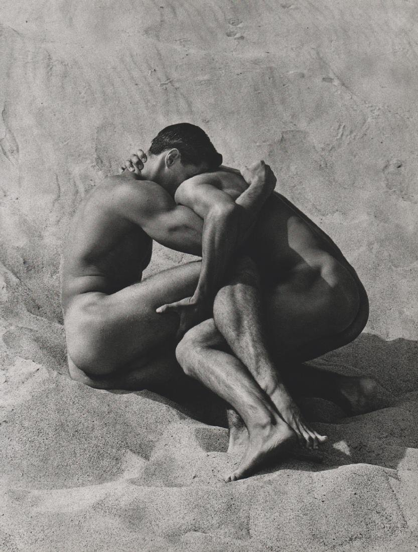 HERB RITTS - Brian and Tony in sand