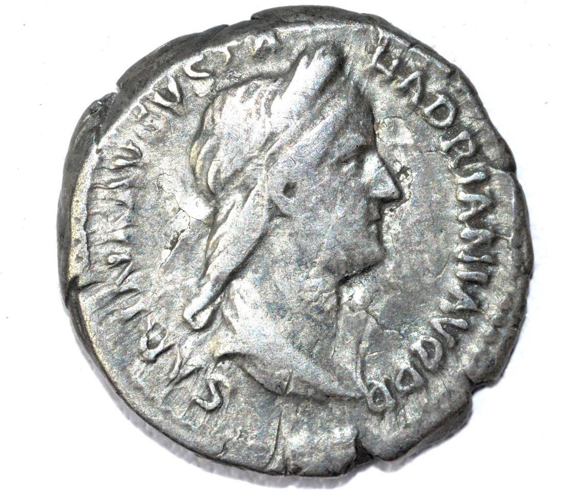 Rare AR Denarius of Sabina, rv. Concordia