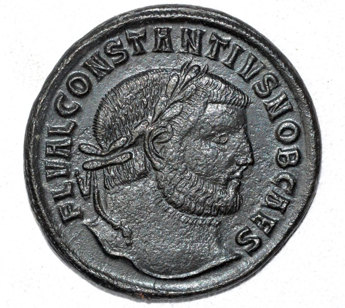 Large AE28 Follis - House of Constantine