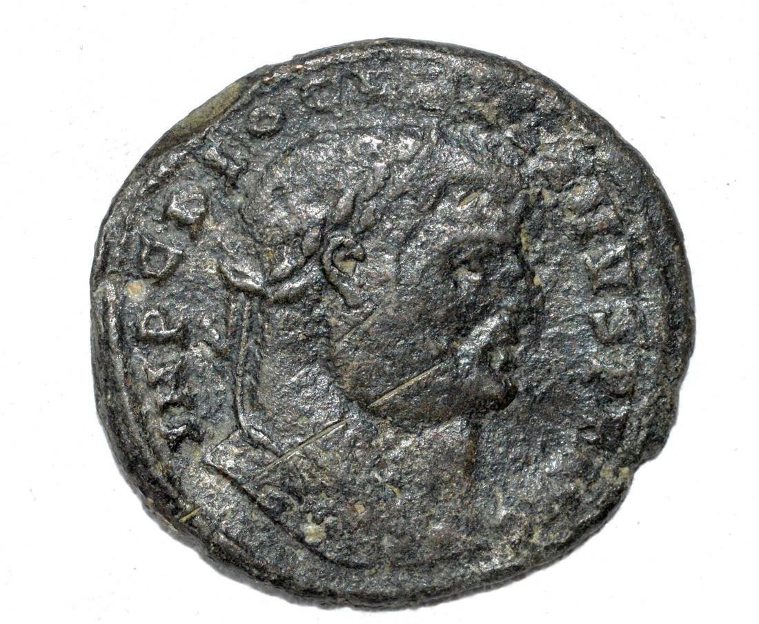 Large AE27 Follis of Emperor Dicletian