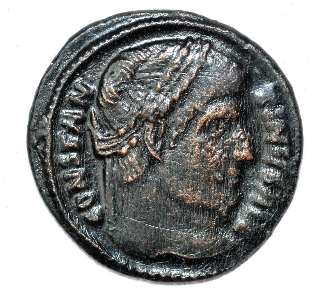 Rare Roman AE Follis - House of Constantine