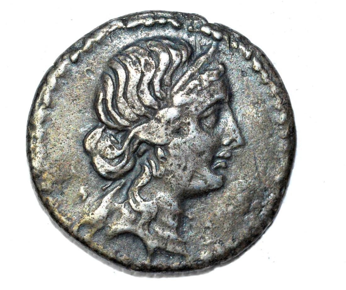 Rare Denarius of Julius Caesar