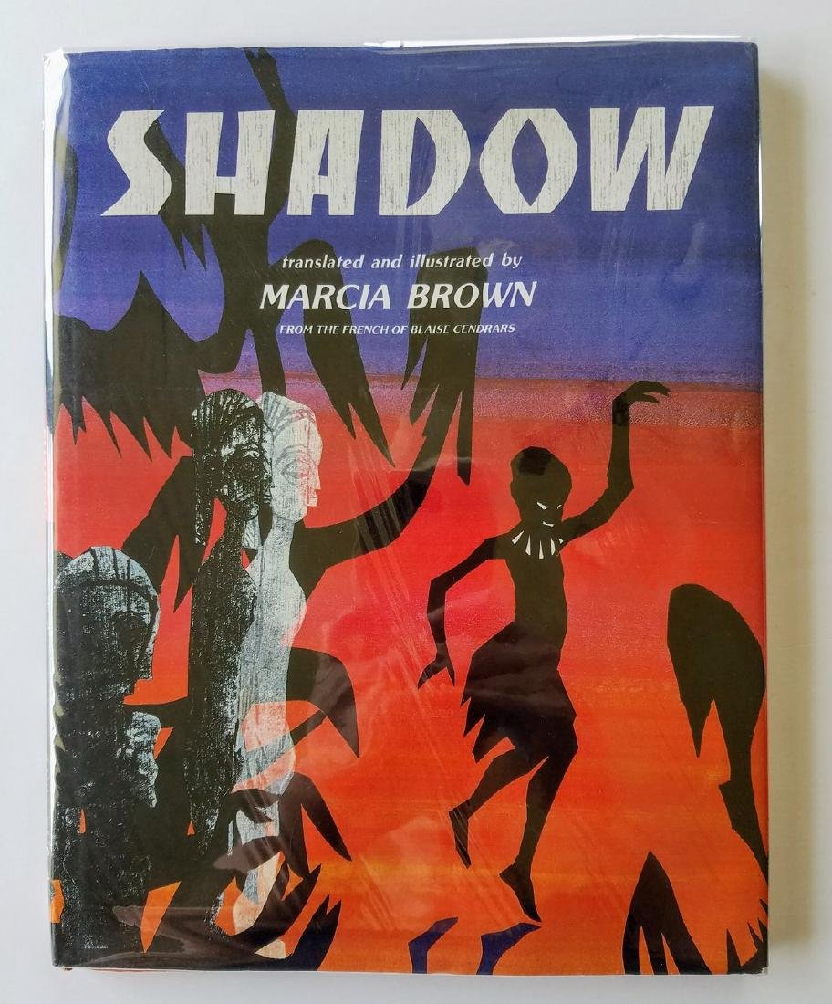 Caldecott Winner, Shadow, first edition.