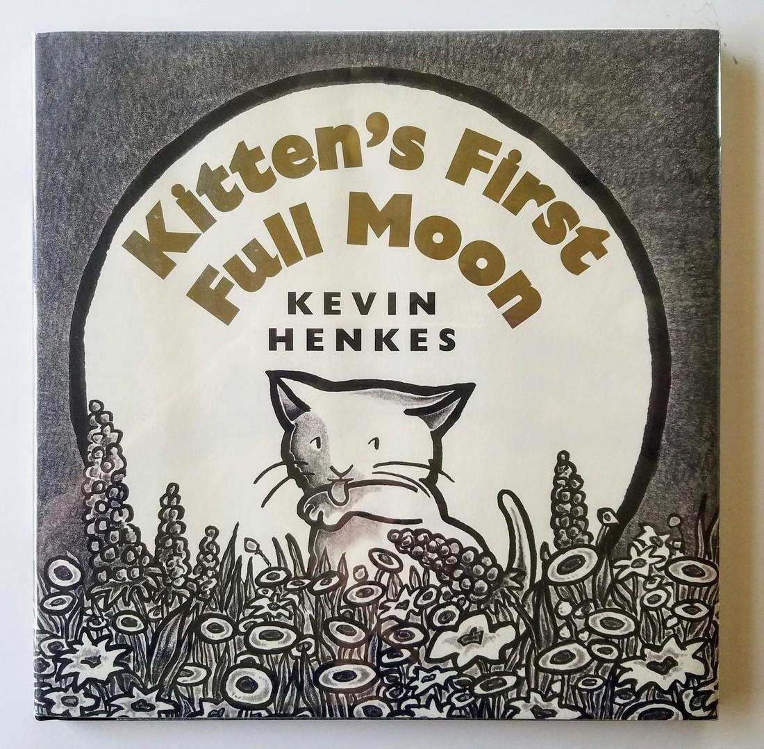 Caldecott Winner Kittens Full Moon Signed first edition